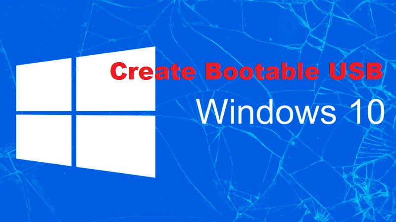 Bootable USB windows 10