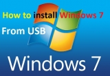 How to Install Windows 7 From USB & Pen drive