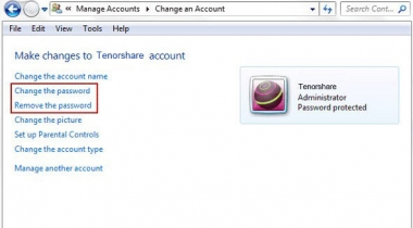 How to remove password from windows 7