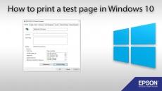 Print Test Page Windows 10 – HP Canon Epson Printers