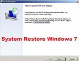 System Restore Windows 7 – How to restore windows