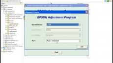 Waste ink pad counter overflow error Epson l3110